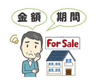 不動産売却において金額と期間は相反する関係にあるので、どちらを優先するのかは悩ましい。